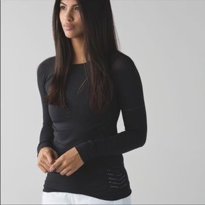 Lululemon Light Speed Long Sleeve Top